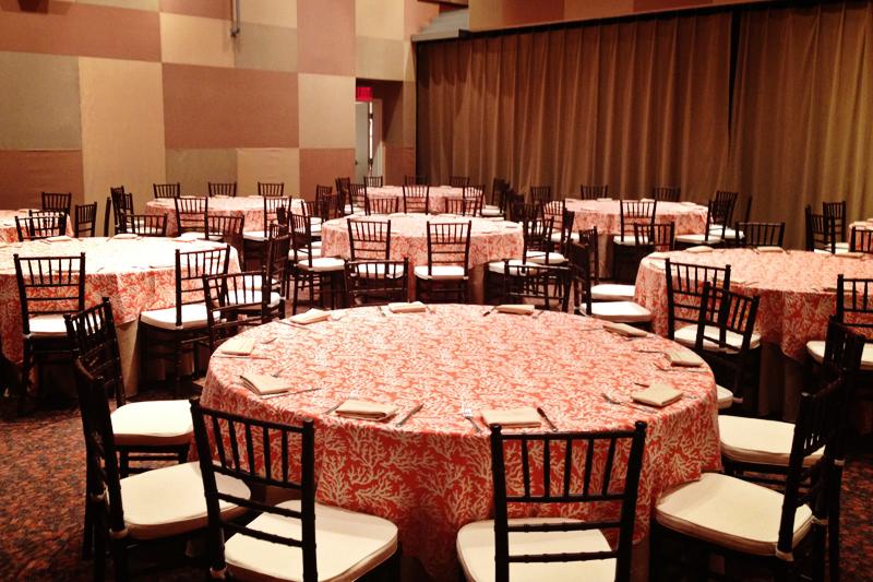 Auditorium Table Display 2