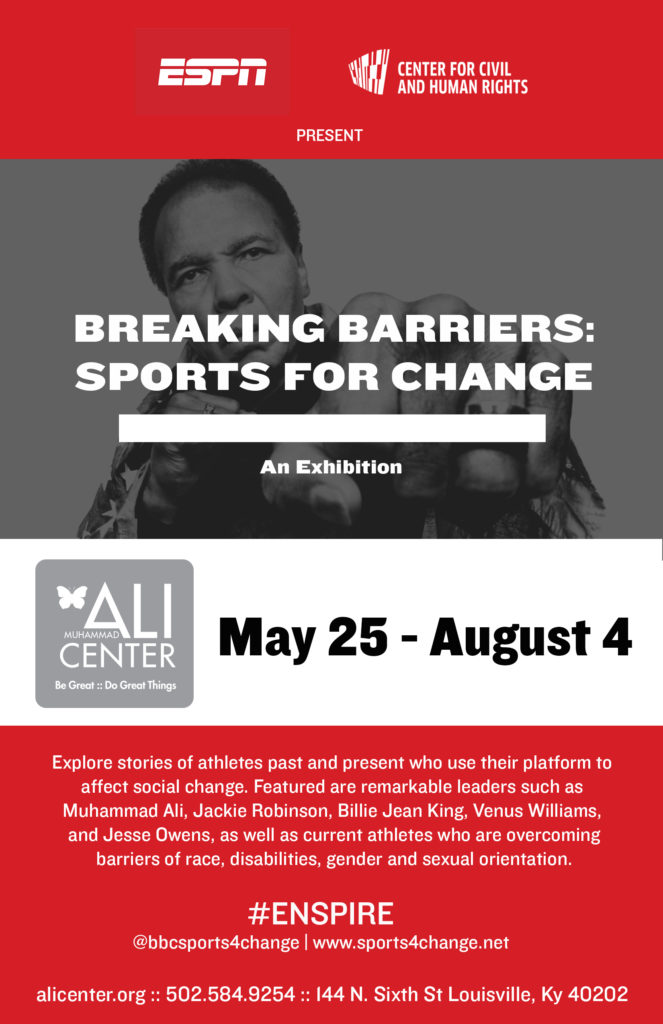 breaking barriers flyer