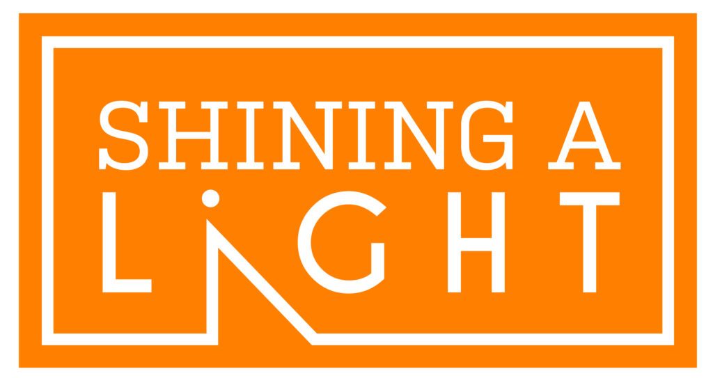 shining a light logo