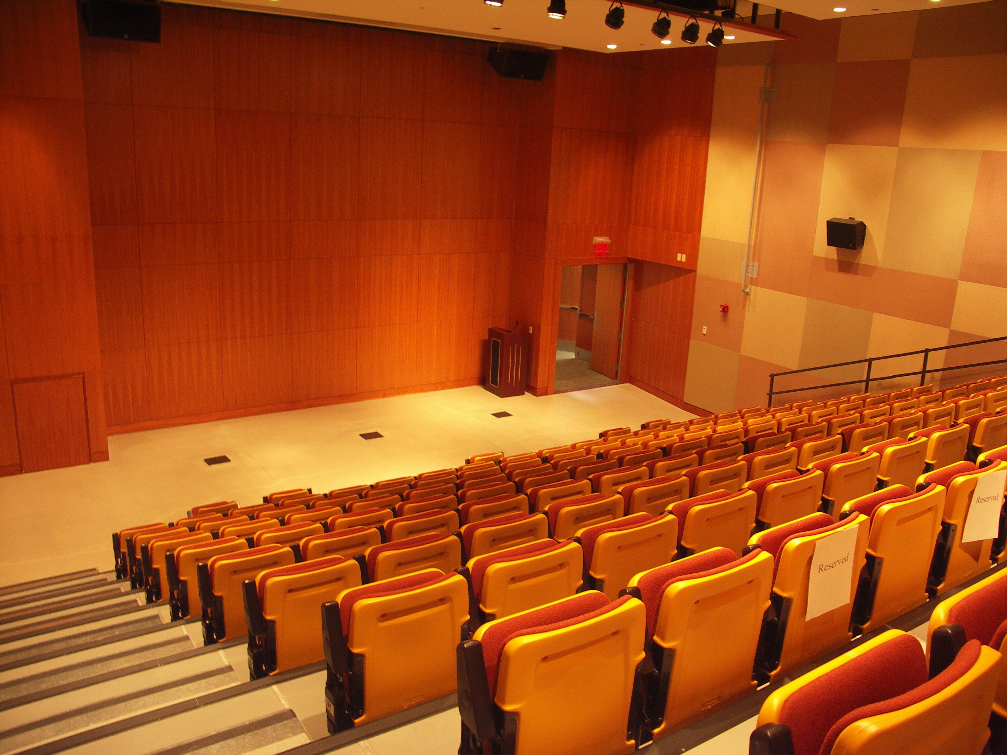 Auditorium muhammad ali center event space for International seating decor