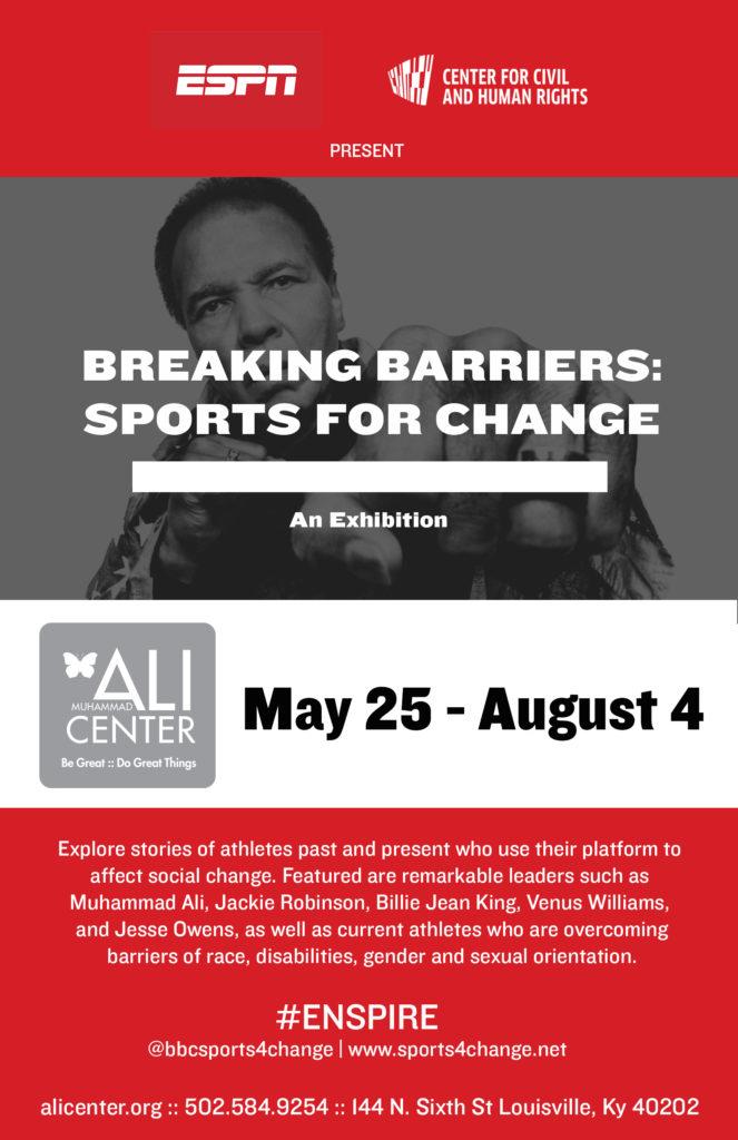 breaking barriers flyer
