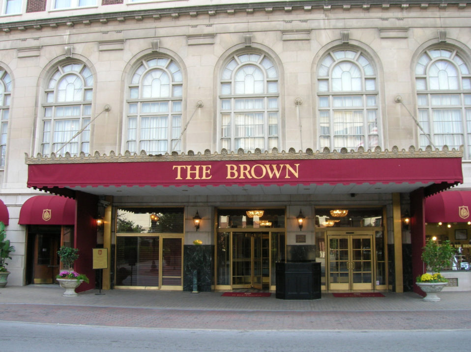 Brown Hotel Outside