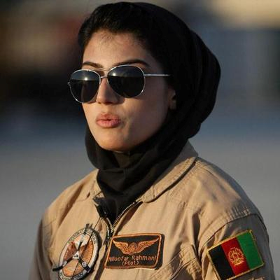 Photo of Capt Niloofar Rahmani