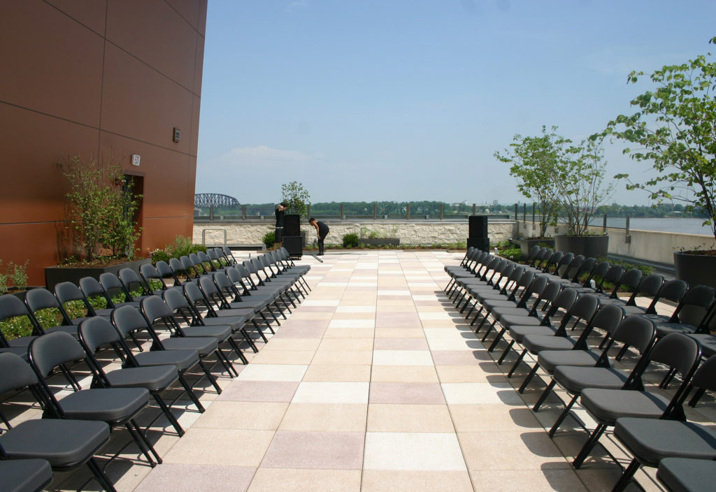 Theater Seating with aisle